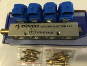 Форсунки MIMGAS 4 цилиндра – 3 Om