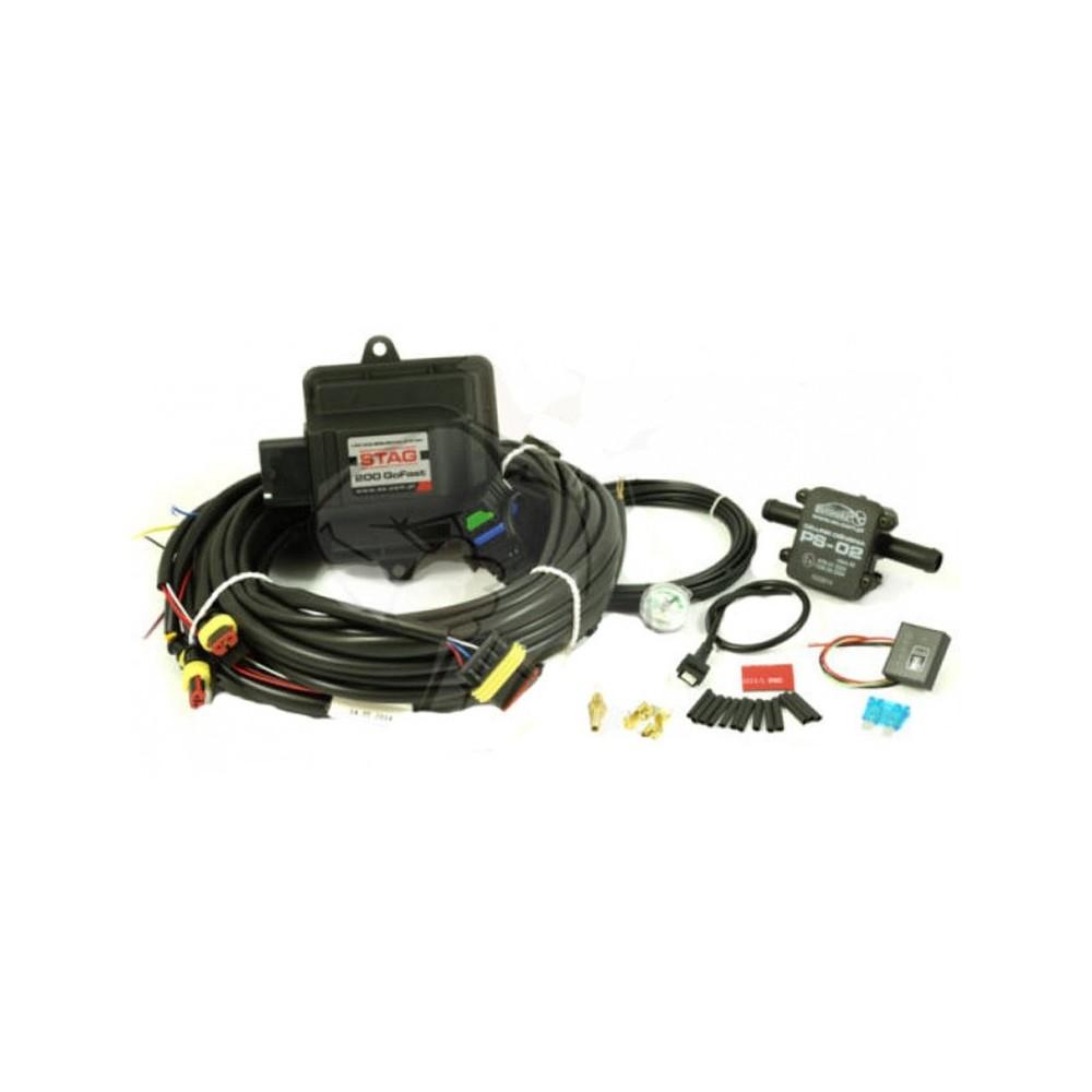 Комплект ГБО 4 Stag Go-Fast elektronika-stag-200-gofast-4-cilindra